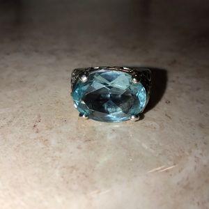 Silpada Jewelry - Silpada Topaz Oval Ring